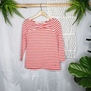 Kate Spade Bow Knit Striped  Women's Size Small